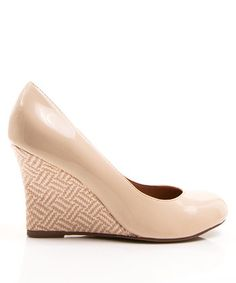 Ivory Patent Jinger Wedge