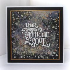 Jane's Journal: Your eyes are the window to your soul Scrapbook Albums, Diy Scrapbook, Scrapbooking, Diy Paper, Paper Crafts, 2017 Inspiration, Image Stamp, Soul Quotes, Diy Photo