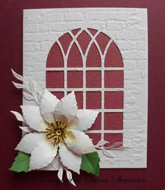 Selma's Stamping Corner: Build A Flower