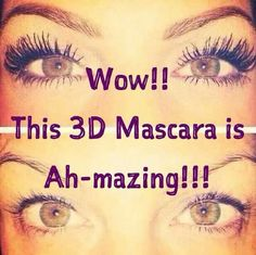 Have you ever found something you just can't keep to yourself and want to let every girl know about? I have and need to tell u about this CRAZY amazing mascara I just discovered! You and your friends MUST be made aware of this and end your short lash life!! Let me help you share the best kept mascara secret with your friends! www.youneedmymascara.com