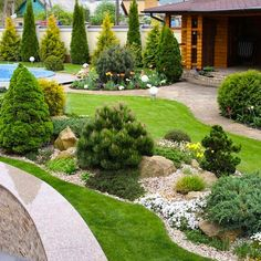 Precious Tips for Outdoor Gardens - Modern Home Landscaping, Front Yard Landscaping, Backyard Patio, Garden Landscape Design, Garden Cottage, Garden Inspiration, Beautiful Gardens, Outdoor Gardens, Japanese Gardens