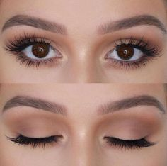 Best Inspiration Mate Makeup : Neutral -Read More – . - - Best Inspiration Mate Makeup : Neutral -Read More – - Beauty Makeup Hacks Ideas Wedding Makeup Looks for Women Makeup Tips Prom M. Neutral Eye Makeup, Makeup For Brown Eyes, Neutral Eyeshadow, Basic Eye Makeup, Makeup Hacks, Makeup Inspo, Makeup Ideas, Makeup Guide, Makeup Style