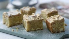 Who said a brownie had to be brown? These white chocolate blondies are a great change and so delicious!