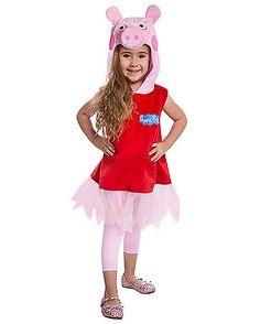 Peppa the Pig Toddler Costume - Spirithalloween.com