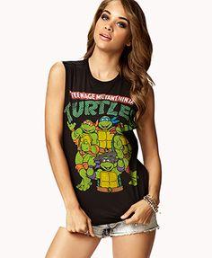 Teenage Mutant Ninja Turtles® Muscle Tee | FOREVER21 - 2060892919 OMG YESSSSSSSSSSSSSSSSSSSSSSSSSSSSSSSSSS