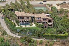 Cher's million dollar Italian Renaissance mansion in Malibu, CA