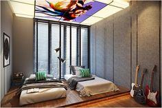 led panel for interior design