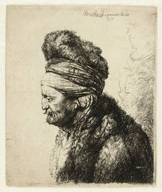Mijn favoriete Rembrandt in Teylers Museum: Tweede oosterse kop (B287)