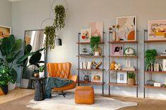Office Interior Design, Luxury Interior Design, Best Interior, Large Bookshelves, Bookcases, Book Shelves, Bookcase Styling, Fancy Houses, Room Paint