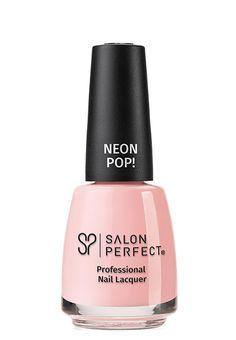 Salon Perfect Professional Nail Lacquer, 524 When Pigs Fly, fl oz Orange Nail Polish, Flying Pig, Professional Nails, False Lashes, Perfect Nails, Bubble Gum, Fun Nails, You Nailed It, Nail Colors