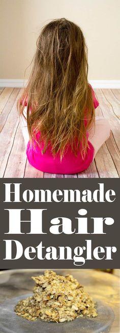 Homemade Hair Detangler | Homemadeforelle.com