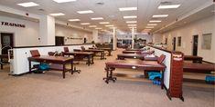 TAMU - Bright Building Athletic Training Room
