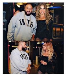 """Backstage With DJ Khalid✨P.S He Was The Opening Act"" by kimoraadelesimmons ❤ liked on Polyvore"