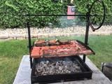 Original Braten Campfire Grill – Back yard grill Backyard Bbq Pit, Fire Pit Patio, Pit Bbq, Fire Pit Grill, Campfire Grill, Bbq Grill, Asado Grill, Wood Grill, Cooking The Perfect Steak
