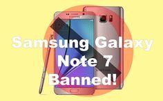 Çıktığı günden beri olumlu ve olumsuz şekilde gündemden düşmeyen Galaxy Note 7 artık yok !!! Galaxy Note 7 sahiplerini ilgilendiren detaylar ise haberimizde ...