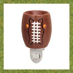 "NEW Touchdown Scentsy Nightlight - 3.5"", 15w, Ceramic. - Available 09/01/2016"