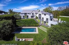 Breathtaking: Simon Fuller listed his renovated Beverly Hills home on the market for $15.9 million, almost twice the amount he paid for in 2005