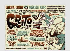 Cartel Grito Fest 2013 por Pablo Lacruz
