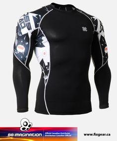 FIXGEAR Compression Base Layer Shirts 95921d226e
