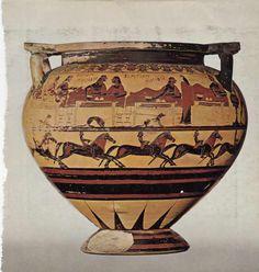 Korynt, koniec VII w. p. n. e., Luwr