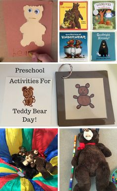 Preschool Activities for Teddy Bear Day! Circle Time Songs, Circle Time Activities, Teddy Bear Day, Teddy Bears, Preschool Classroom, Preschool Activities, Bear Songs, Goldilocks And The Three Bears, We Bear