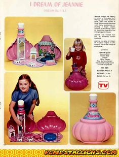 I Dream of Jeannie playset (ok, this one I don't remember but I so would have wanted it!)