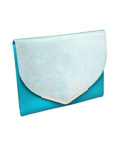Ocean Scale..Turquoise.. Card Case, Clutch Bag, Fashion Forward, Scale, Ocean, Range, Turquoise, Design, In Trend