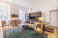 Ristrutturazione Di Un Appartamento Di 75 Mq A Milano Con Open Space  Completo Di Angolo Cottura