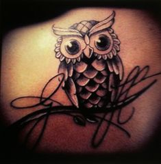 The Symbolic Meanings of the Owl Tattoo From: TattoosWin.com/