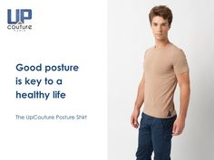 How's your posture now? #UpCouturePostureShirt #UpCouture #ImproveYourPosture #TechnologyPatented #Healthy  www.UpCouture.com