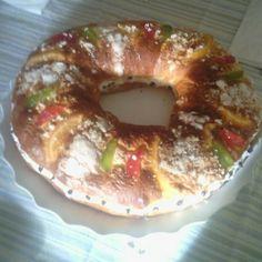Roscón de Reyes para #Mycook http://www.mycook.es/receta/roscon-de-reyes-7/