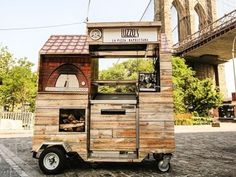 This Is the World's Smallest Wood-Fired Pizza Cart - Eater