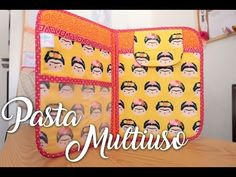 Passo a Passo - Pasta Organizadora Multiuso (Intermediário) - YouTube