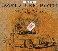 """For Sale - David Lee Roth She's My Machine UK  CD single (CD5 / 5"""") - See this and 250,000 other rare & vintage vinyl records, singles, LPs & CDs at http://eil.com"""