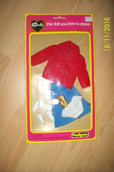 VINTAGE SINDY DOLL OUTFIT SKIRT JACKET BAG SHOES KNICKERS | 4.19+2.8