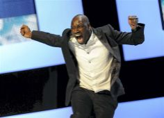 Omar SY becomes the first black actor to take home best actor award at the Cesar awards (Oscars in France) Feb.24 2012.