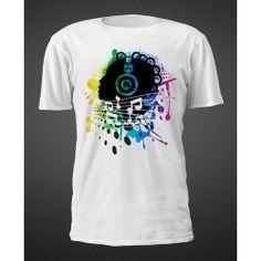 T-shirt Black Music