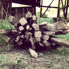 Oh the things you can do with some old tobacco sticks! Can not wait to show my finished product! :)