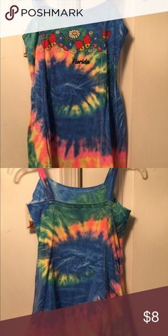 Girls tie-dye dress Girls tie-dye dress from Florida, size small , great condition, gently used Dresses Casual