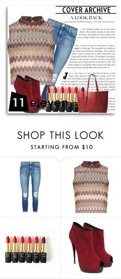 """""""HIELEVEN Contest"""" by emina-393 ❤ liked on Polyvore featuring J Brand, Glamorous, L'Oréal Paris, Giuseppe Zanotti and hielevencom"""