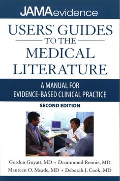 users guide of medical literatures