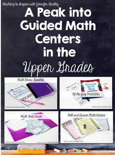 Guided Math in the Upper Grades - Teaching to Inspire with Jennifer Findley
