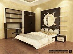 interior design of a bedroom Photo