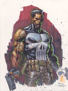 Punisher by David Finch