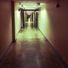 Contently hallway. Super creepy.