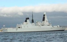 The Royal Navy Type 45 Daring Class destoyer is one of the fleet's most advanced warships