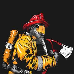 Firefighter School, Firefighter Tools, Firefighter Wedding, Wildland Firefighter, Firefighter Shirts, Volunteer Firefighter, Fire Dept, Fire Department, Fire Truck Drawing