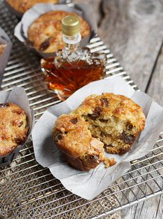 Butter Tart Muffins   HAPPY CANADA DAY!  Canada is 148 yrs old June 1st 2015 ;)