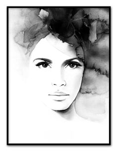 Magdalena Tyboni Pretty Anne, artprint 30x40 via Prints. Click on the image to see more!