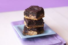Peanut Butter Slutty Brownies by handletheheat #Brownies #Peanut_Butter #handletheheat